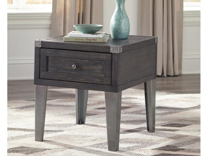 Dark Gray Accent End Table,Taft Furniture Showcase