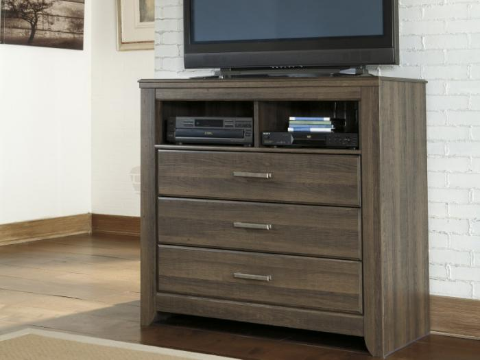 MB10 Rustic Oak Media Chest ,Taft Furniture Showcase