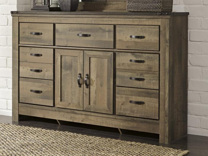 MB60 Vintage Brown Dresser,Taft Furniture Showcase