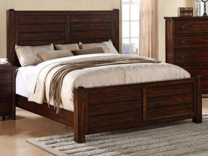 MB41 Rustic Queen Panel Bed,Taft Furniture Showcase
