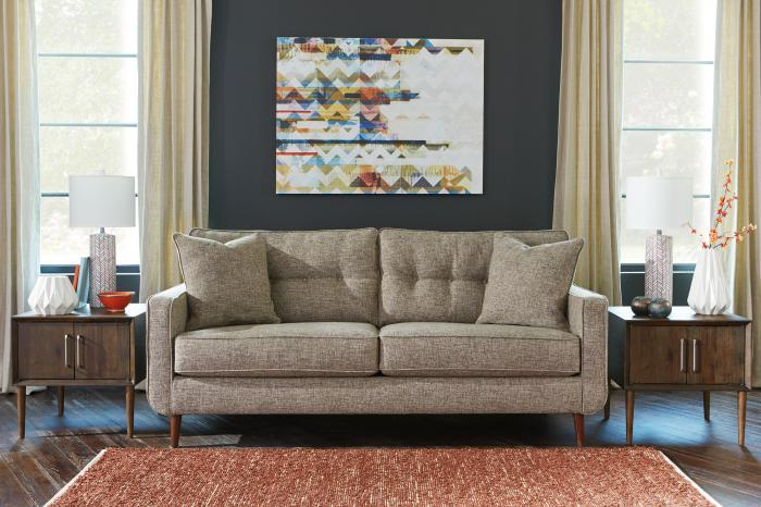 Mid-Century Jute Sofa,Taft Furniture Showcase