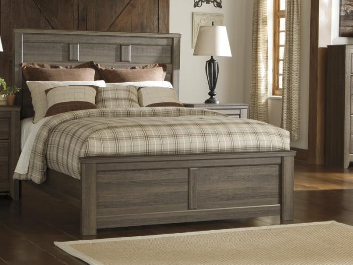 MB10 Rustic Oak Queen Panel Bed,Taft Furniture Showcase