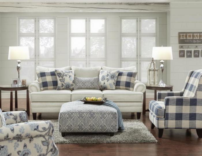 Taft Furniture Sleep Center Catalina Linen Sofa