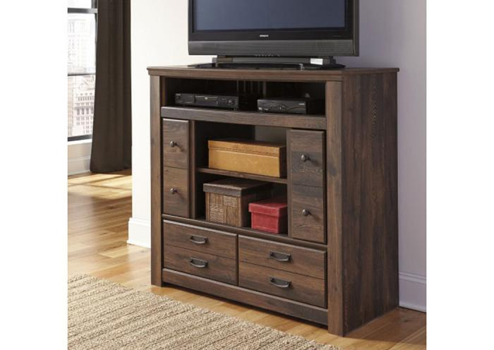 MB16 Rustic Cottage Media Chest ,Taft Furniture Showcase