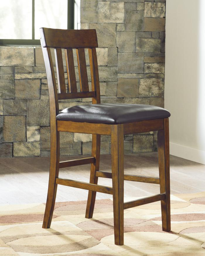 DR23 Rustic Charm Counter Table & 4 Stools,Taft Furniture Showcase