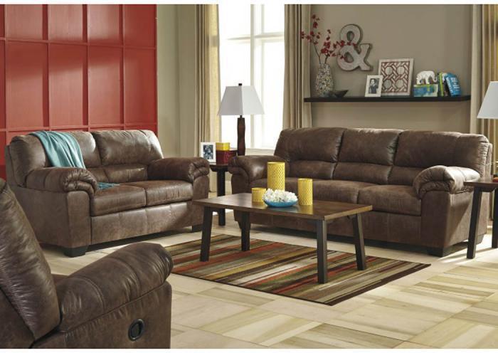 Taft Furniture Sleep Center Coffee Microfiber Sofa From The Tonal