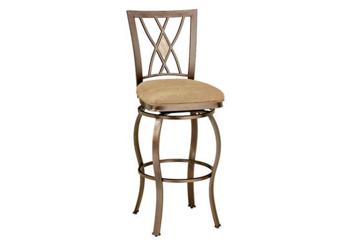 MS30-40 - Diamond Fossil Back Swivel Bar Stool,Taft Furniture Showcase