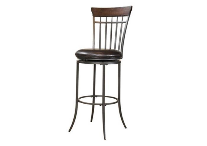 MS30-56 - Swivel (Vertical Spindle Back) Bar Stool,Taft Furniture Showcase