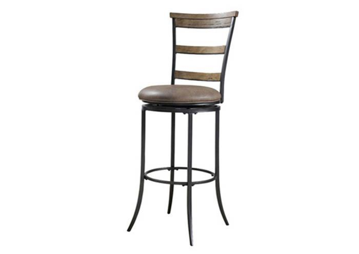 MS24-71 - Swivel (Ladder Back) Counter Stool,Taft Furniture Showcase