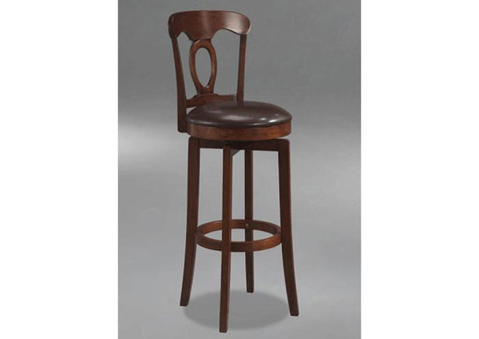 WS24-107 - Swivel Counter Stool,Taft Furniture Showcase