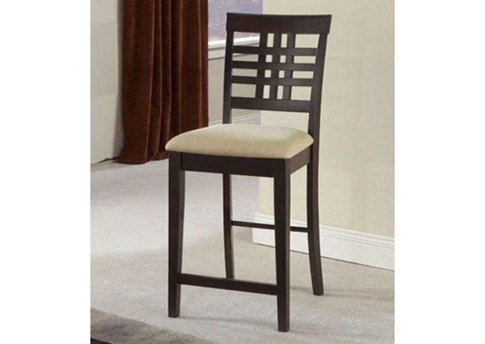 W24-263 - Non-Swivel Counter Stools - Set Of 2,Taft Furniture Showcase