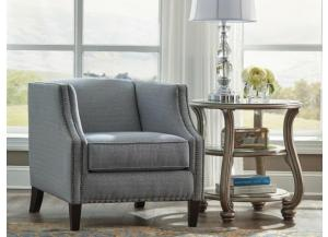 Drysdale Navy Accent Chair