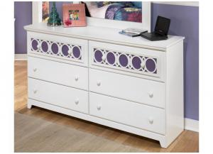 YB11 Colors & White Dresser