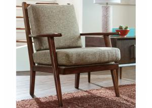 Mid-Century Jute Chair