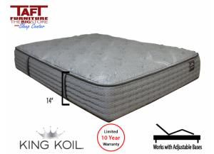 King Koil Gracelyn Plush Queen Mattress,King Koil & Sierra Sleep