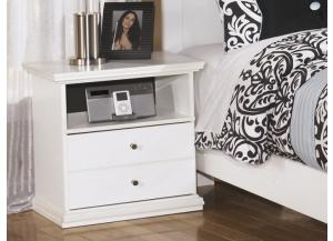 MB5 Cottage White Nightstand