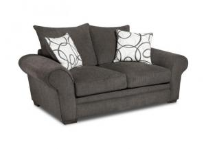 Othello Black Loveseat