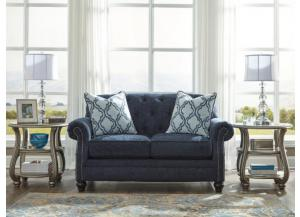 Drysdale Navy Loveseat