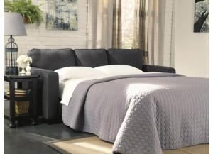 LR44 Charcoal Queen Sleeper Sofa from the Teahouse Collection