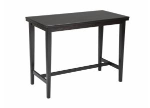 DR6 Contemporary Dark Counter Table