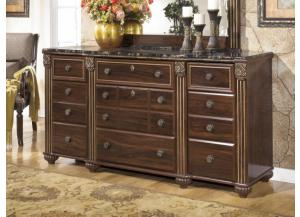 MB24 Old World Dark Dresser