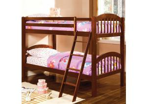 Cherry Twin Bunk Bed
