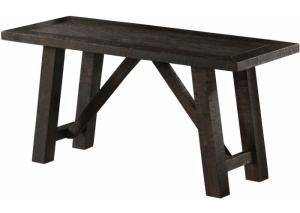 DR123 Rustic Brown Side Bench