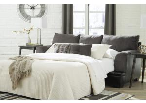 Geo Smoke Queen Sleeper Sofa