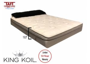 King Koil Galaxy Eurotop Plush Twin Mattress