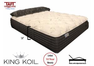 King Koil Dylan Luxury Plush Twin Mattress