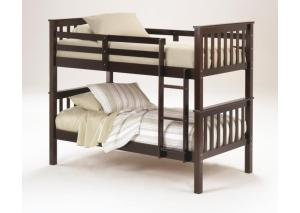Merlot Twin Bunk Bed