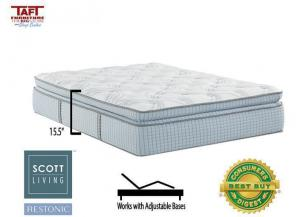 Scott Living Panorama Super Pillow Top Full Mattress by Restonic
