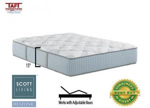 Scott Living Panorama Plush Full Mattress by Restonic