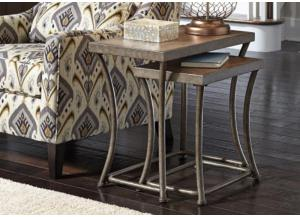 Urban Light Brown 2-Pack Nesting Tables