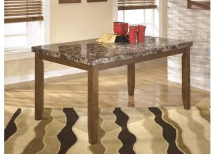 DR13 Medium Brown Contemporary Dining Table
