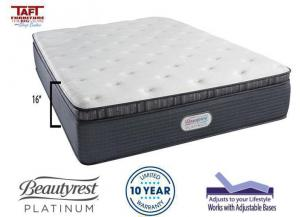 Beautyrest Platinum Belgrade Luxury Firm Pillow Top Full Mattress