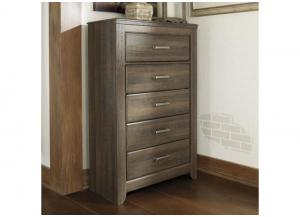 MB10 Rustic Oak 5-Drawer Chest