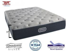 Beautyrest Silver Plush Twin Mattress