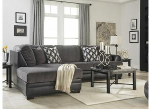 Diamond Smoke 2-Piece Sectional