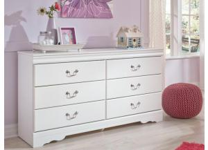 YB18 Traditional White Dresser