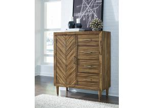 MB175 Light Brown Door Chest