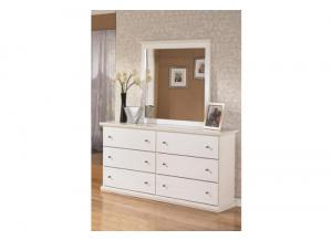 MB5 Cottage White Mirror