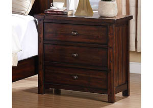 MB41 Rustic Nightstand