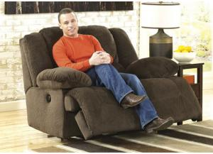 LR12 Chocolate Plush Zero Wall Recliner