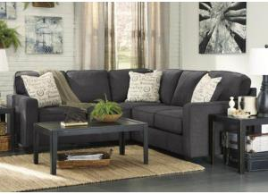 LR44 Charcoal 2-Piece Sectional from the Teahouse Collection