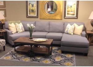 LR53 Alloy 3-Piece Sectional II from the Edward Collection