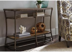 Urban Light Brown Sofa Table