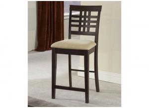 W24-263 - Non-Swivel Counter Stools - Set Of 2