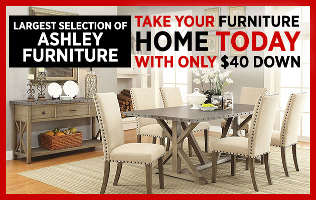 Take Your Furniture Home Today