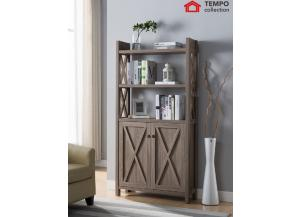 Bookcase, Dark Taupe